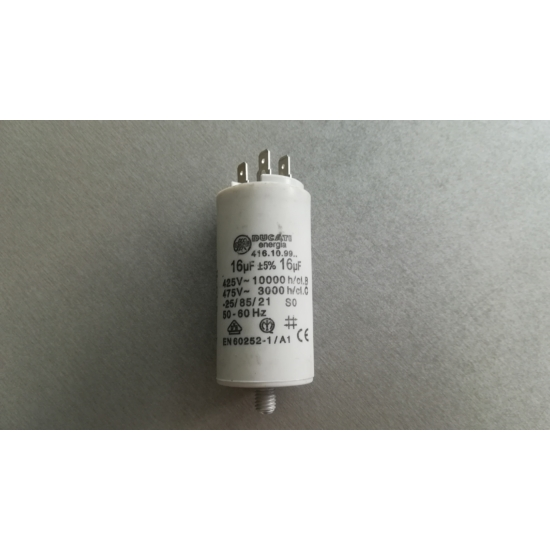 Ducati üzemi kondenzátor sarus 16µF